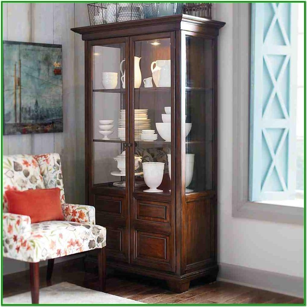 Living Room Ikea Curio Cabinet