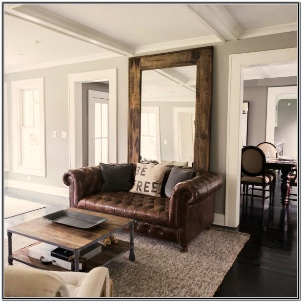 Living Room Industrial Farmhouse Design
