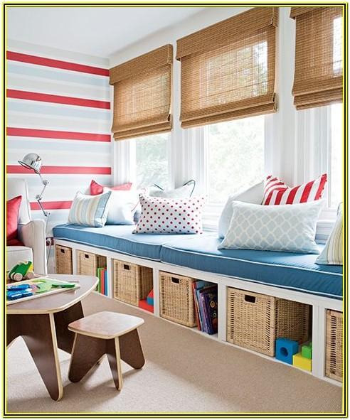 Living Room Kids Storage Ideas