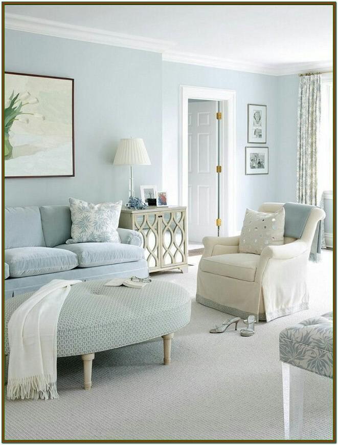 Living Room Light Blue House Paint