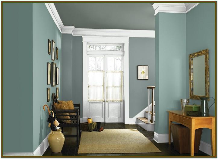 Living Room Light Blue Interior Paint
