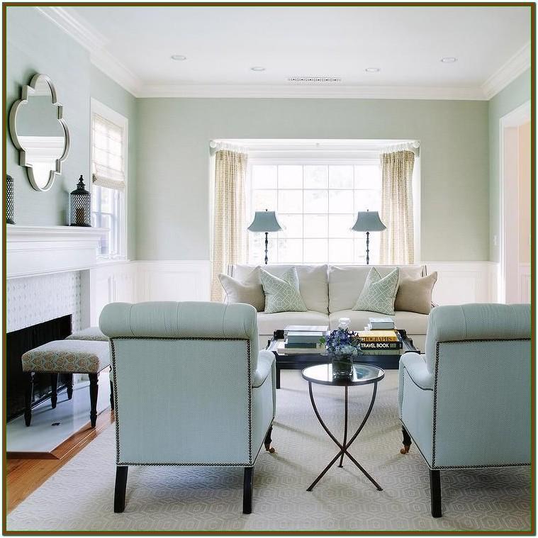 Living Room Light Blue Wall Paint