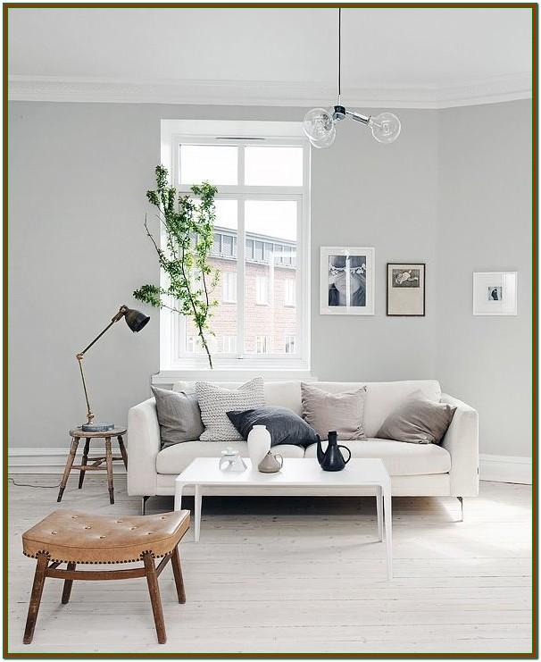 Living Room Light Grey Blue Paint