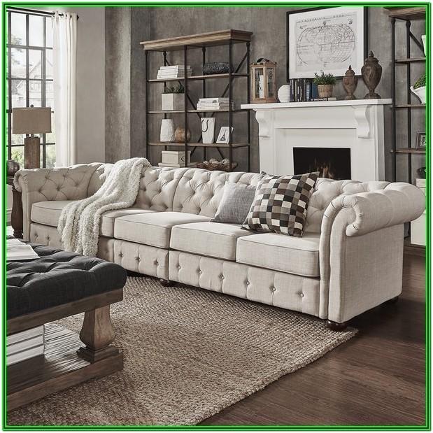 Living Room Long Sofa Chair