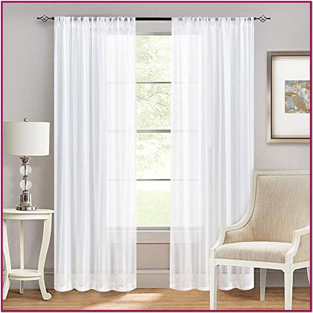 Living Room Long Window Curtains