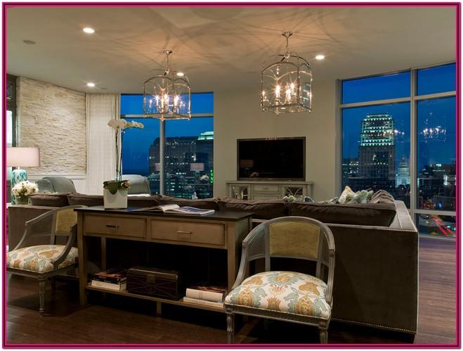 Living Room Luxury Condo Interior Design