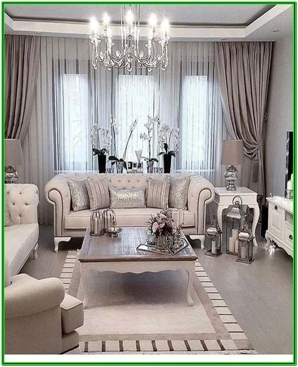 Living Room Luxury Home Decor Ideas