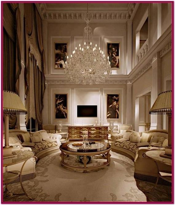 Living Room Luxury Home Interior Design