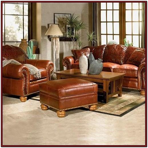 Living Room Luxury Living Room Leather Sofa Set