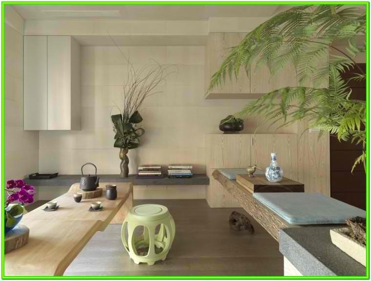 Living Room Modern Asian Interior Design