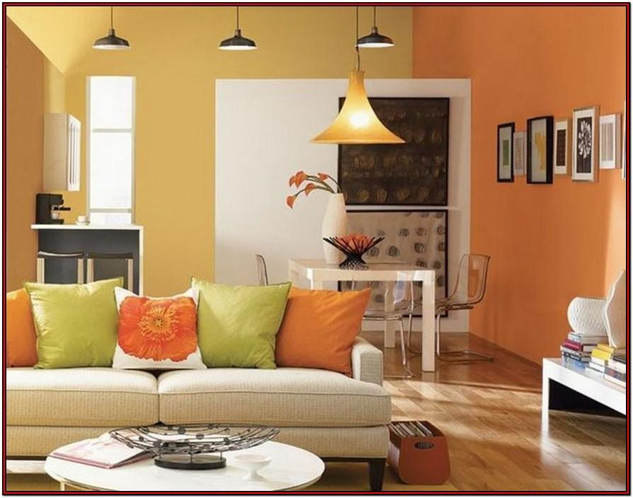 Living Room Modern Bedroom Paint Two Colors