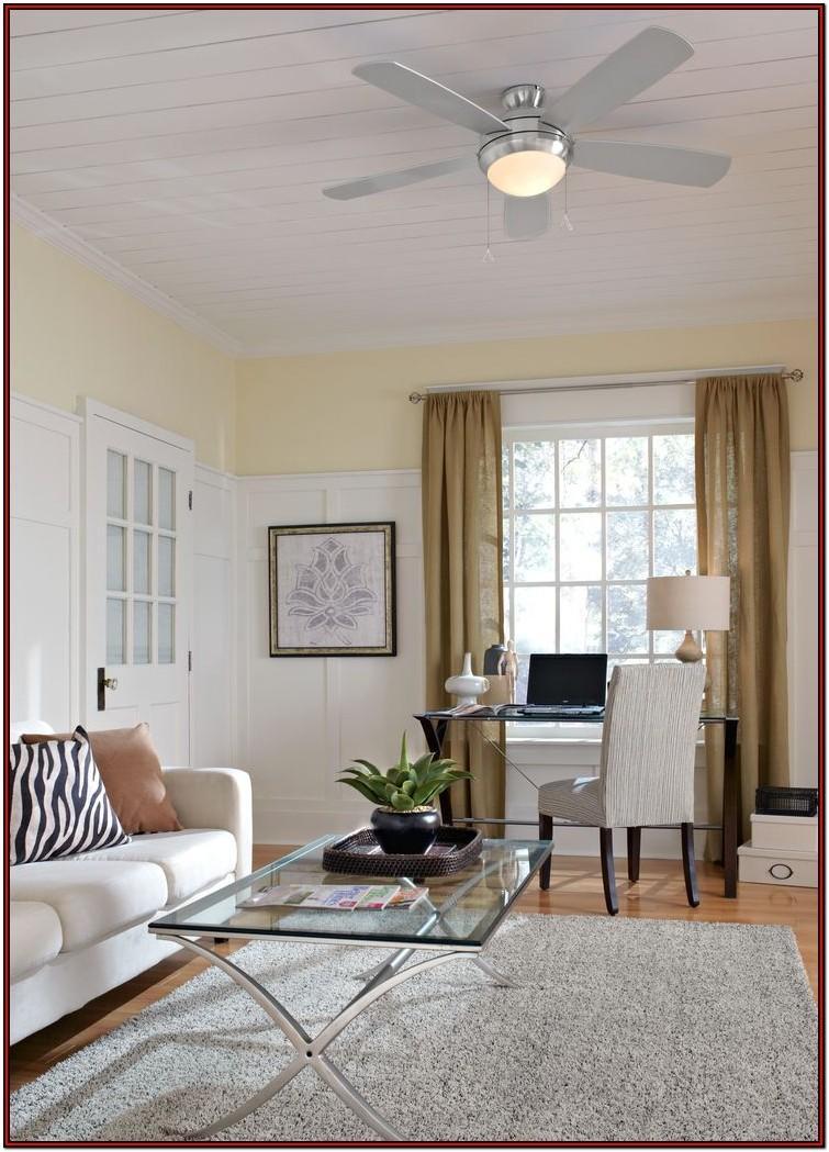 Living Room Modern Black Ceiling Fans