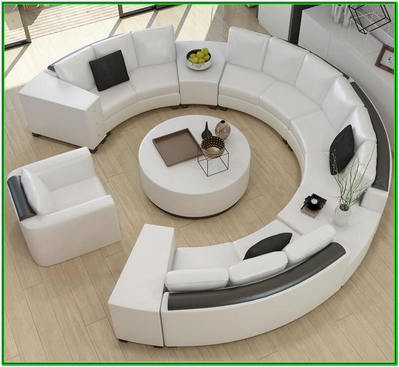 Living Room Modern Sofa Top View