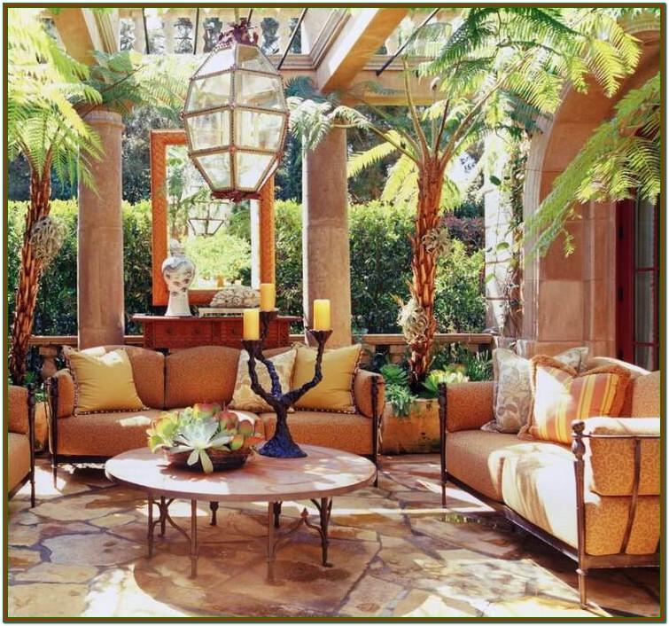 Living Room Modern Tuscan Interior Design