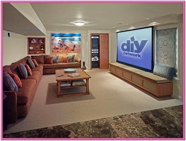 Living Room Movie Theater Ideas