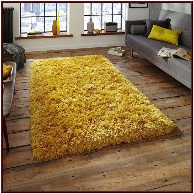 Living Room Mustard Rugs