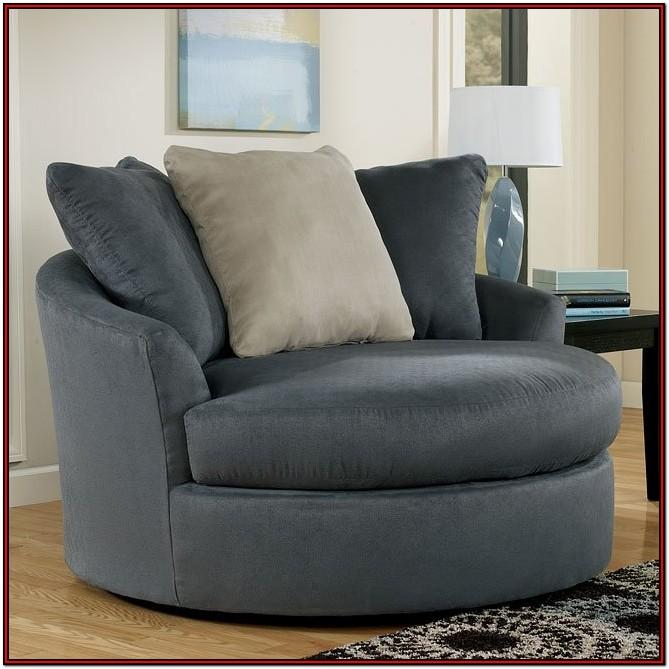 Living Room Oversized Round Chair