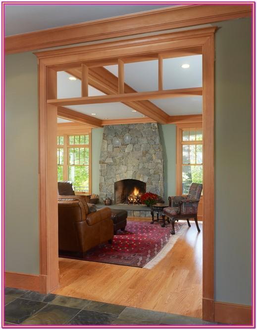 Living Room Paint Colors With Oak Wood Trim