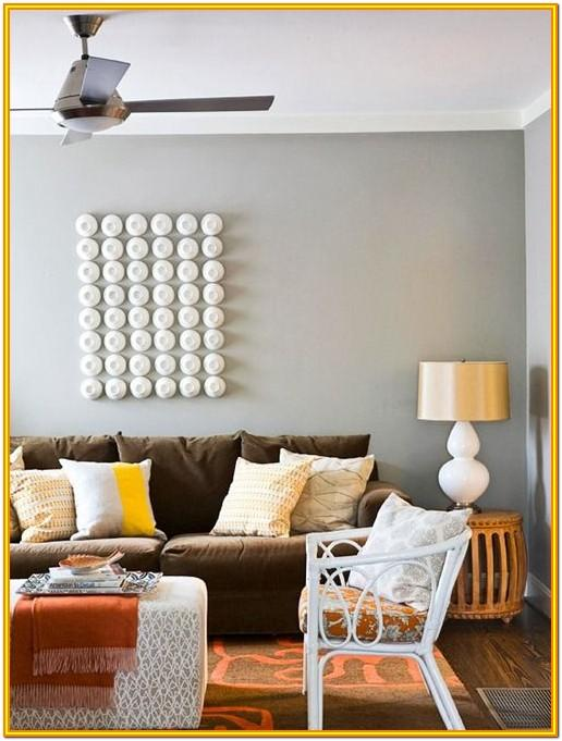 Living Room Paint Ideas With Brown Couch