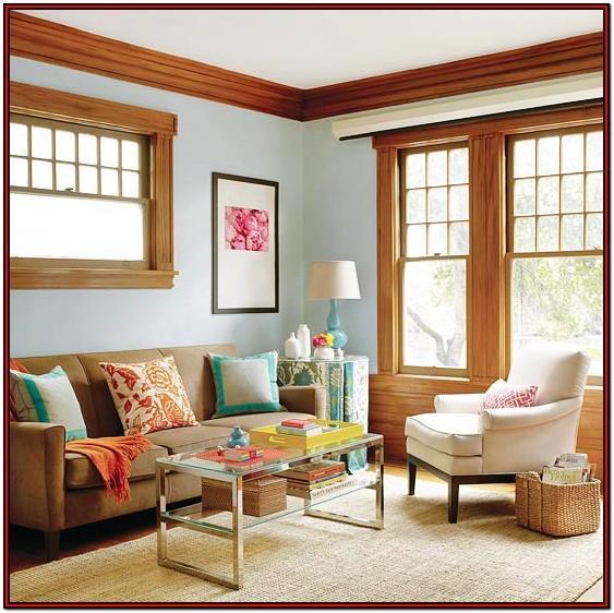 Living Room Paint Ideas With Dark Wood Trim