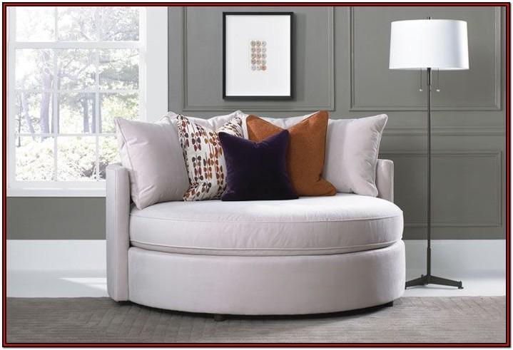 Living Room Round Cushion Chair