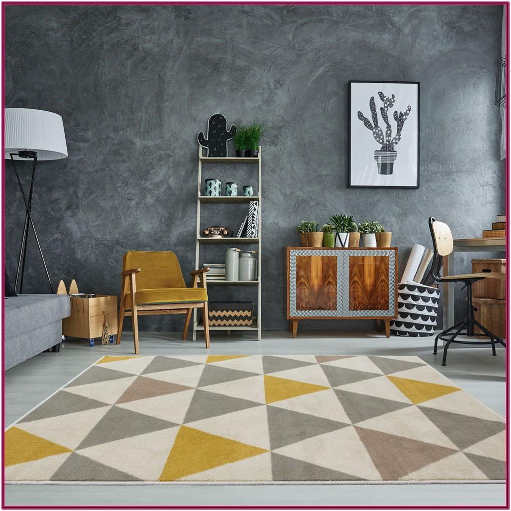 Living Room Rug Gray