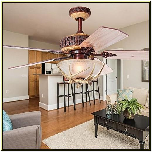 Living Room Rustic Living Room Ceiling Fans With Lights