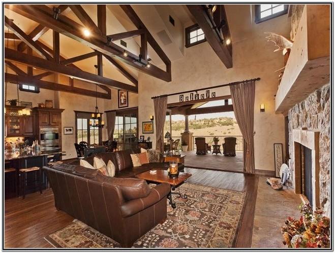 Living Room Rustic Tuscan Decor