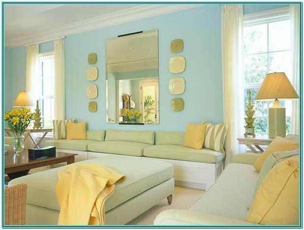 Living Room Seafoam Green Paint