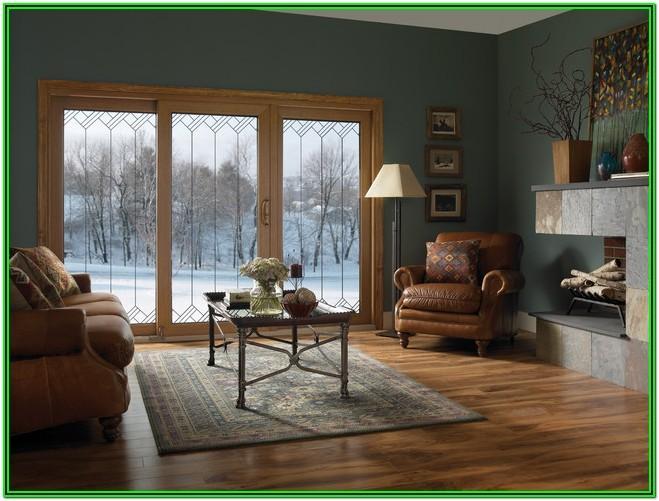 Living Room Sliding Glass Door Ideas