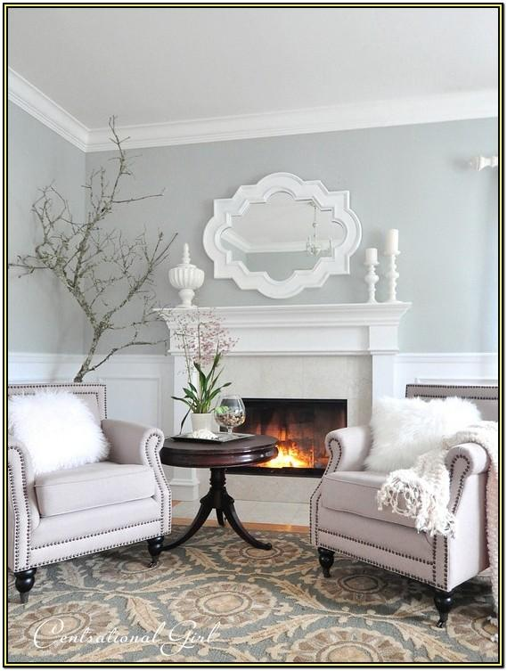 Living Room Soft Grey Paint Colors
