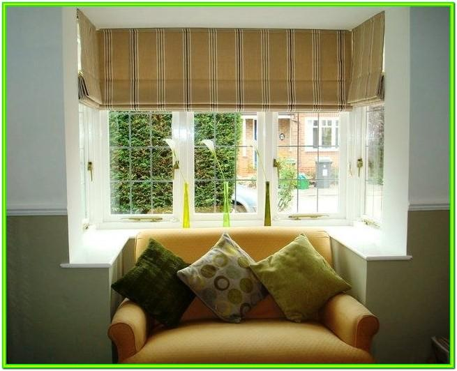 Living Room Square Bay Window Curtains