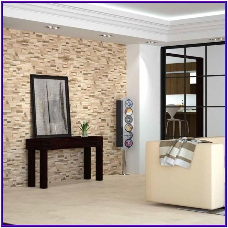 Living Room Stone Effect Wall Tiles