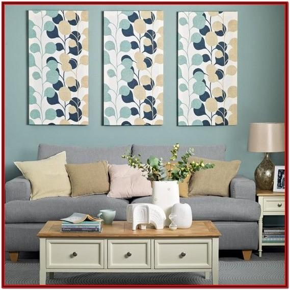 Living Room Teal Home Accessories