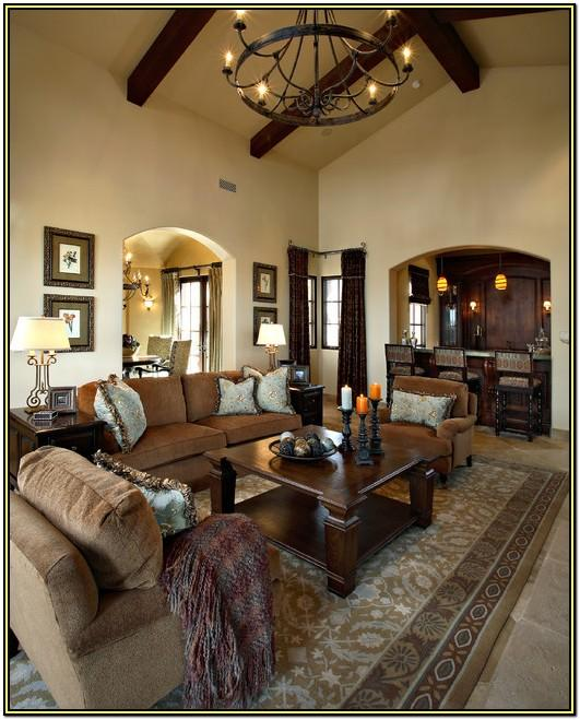 Living Room Traditional Style Interior Design