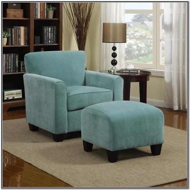 Living Room Turquoise Accent Chair