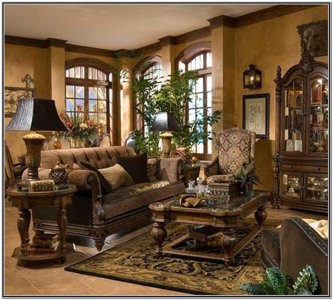 Living Room Tuscan Wall Decor