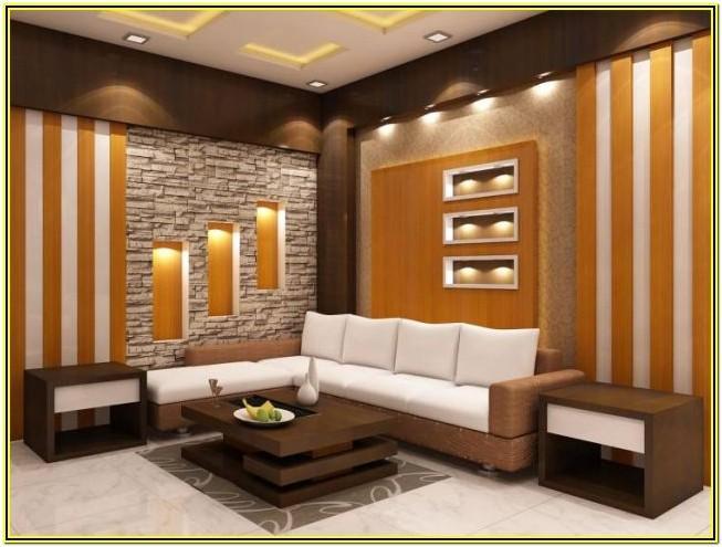 Living Room Wall Niche Decor