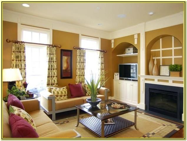 Living Room Wall Niche Designs