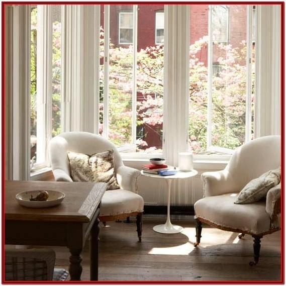 Living Room Windowsill Decor