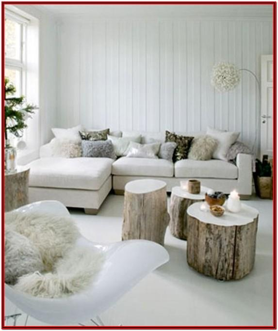 Living Room Winter Decor Ideas