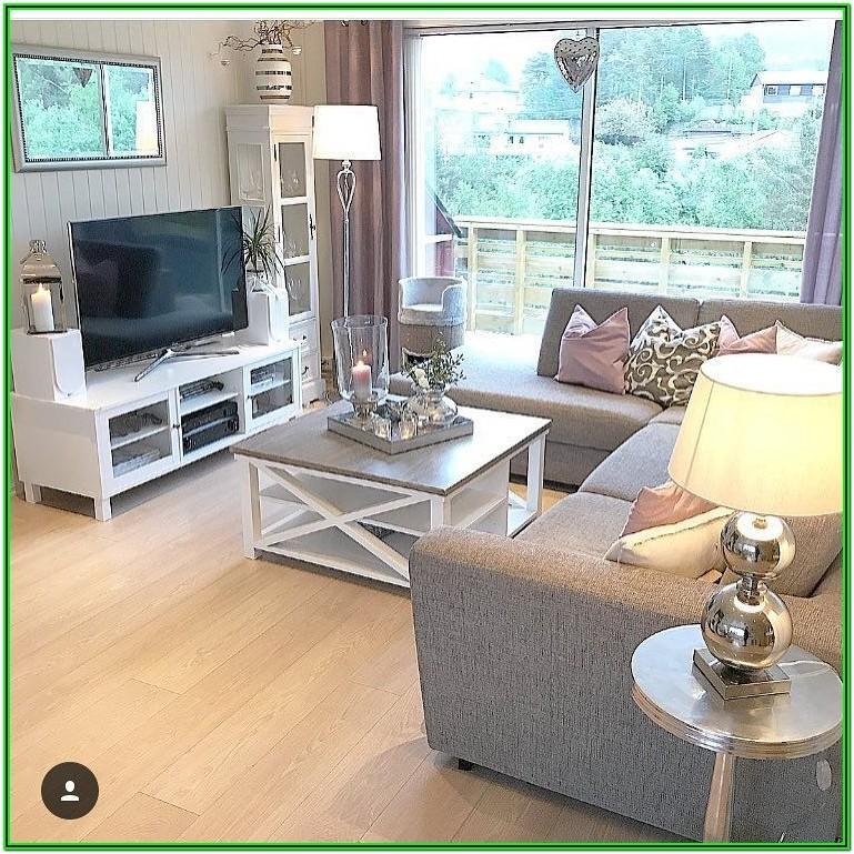 Living Room With Sliding Glass Door Arrangement