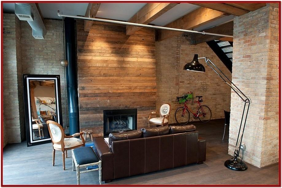 Living Room Wood Decor Ideas
