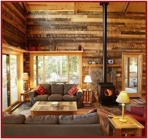 Living Room Wood Wall Decor