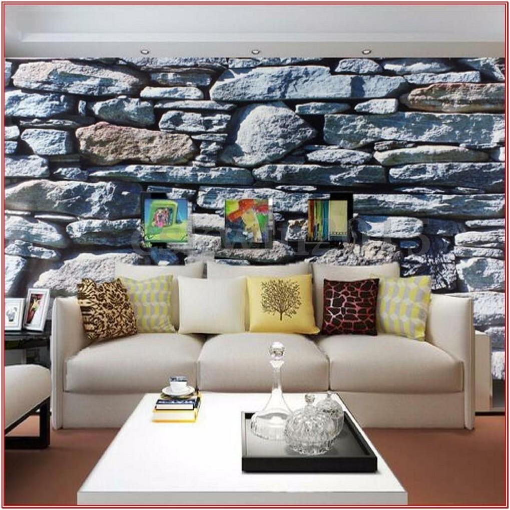 Luxury 3d Wallpaper For Living Room Modern