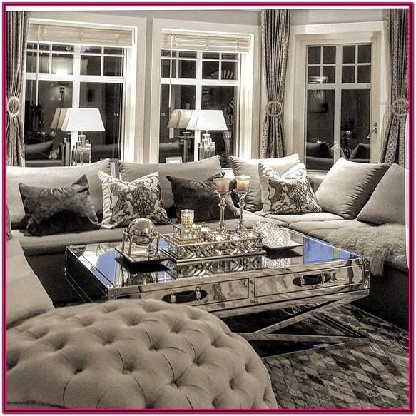 Luxury Glam Luxury Interior Design Living Room