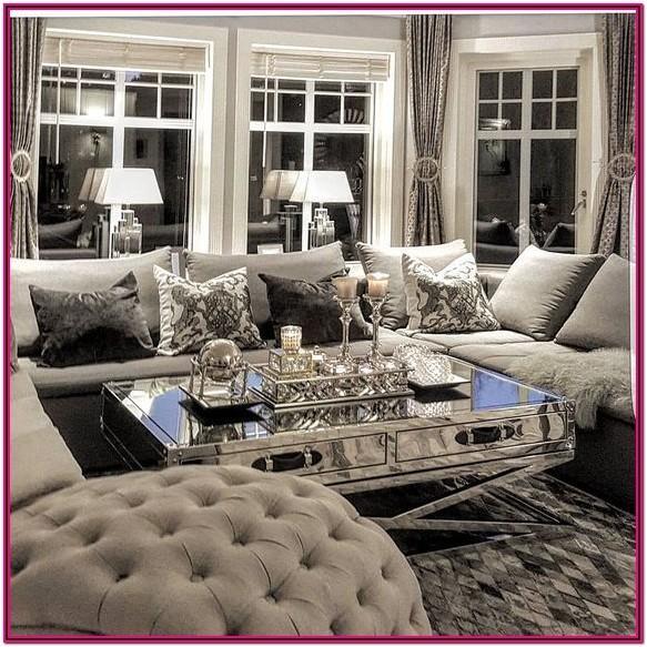 Luxury Glam Luxury Interior Design Living Room