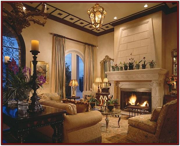 Mediterranean Furniture Style Living Room