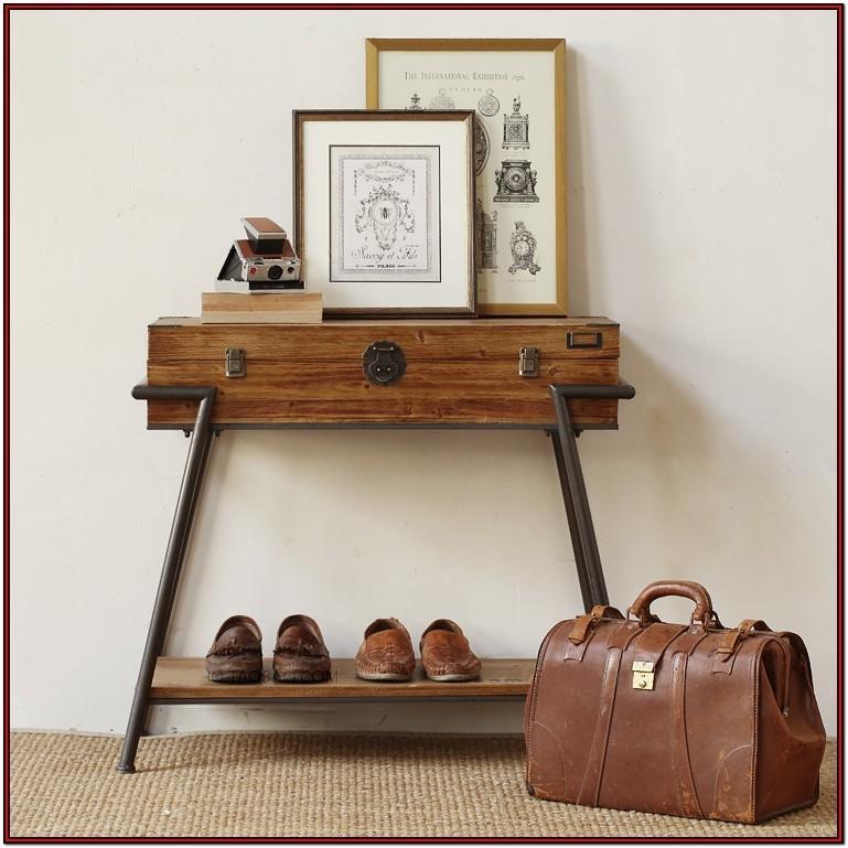 Metal And Wood Living Room Furniture