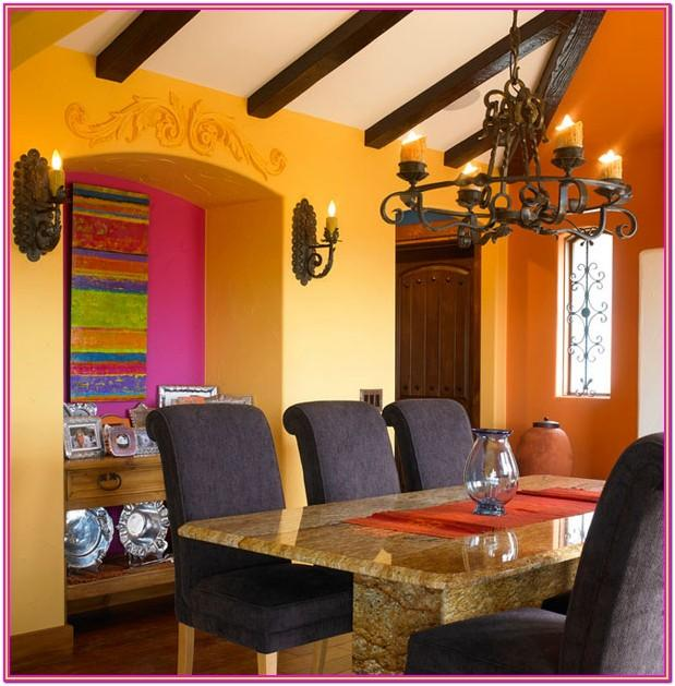 Mexican Color Schemes Living Rooms